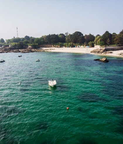 The beauty of Beg-Meil coves